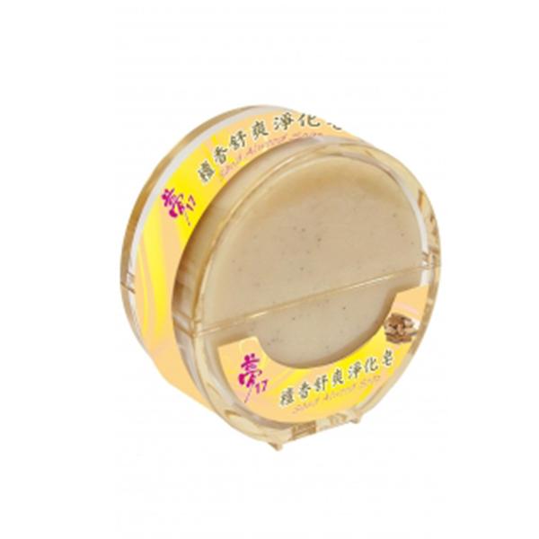夢17檀香舒爽淨化香皂