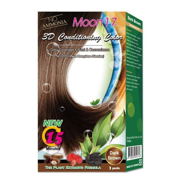 3D Conditioning Color - Dark Brown (NO PPD)  3 Packs